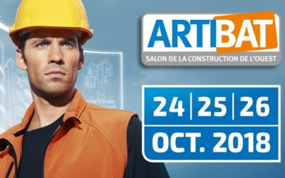 Artibat, salon de la construction – 24, 25, 26 octobre 2018