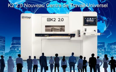 NOUVEAU CENTRE D'USINAGE COMPACT VITAP