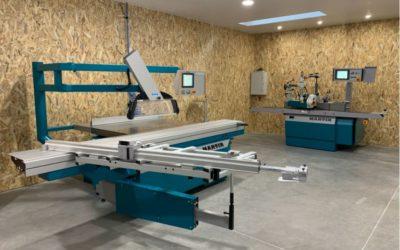 MACHINES MARTIN EN FONCTIONNEMENT A L'AGENCE